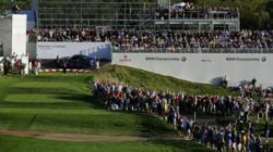 BMW Championship 2012 VIP Pavilion Structure by Condit at 17th Tee